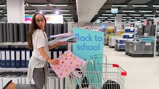 SHOPPING FOR BACK TO SCHOOL 2018!