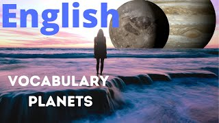Learn English for beginners online free (planets)