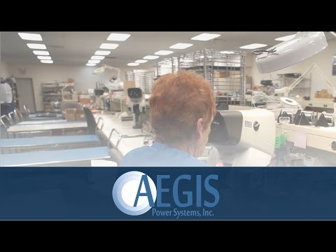 Intro to Aegis Power Systems - Manufacturer of Custom Power Supplies
