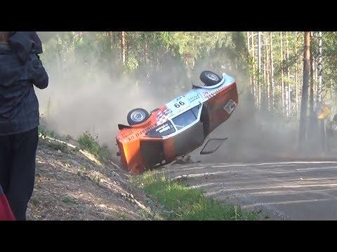 Jari-Pekka Ralli Heinola 2014, F-Cup (crashes & action)