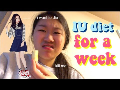 I tried Kpop star IU's diet for a week!