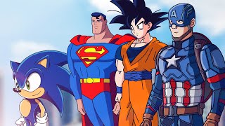 HEROES VS CORONAVIRUS (SONIC, BATMAN, GOKU, DEADPOOL, SUPERMAN, OPTIMUS, SPIDERMAN ETC)| FactyKilian