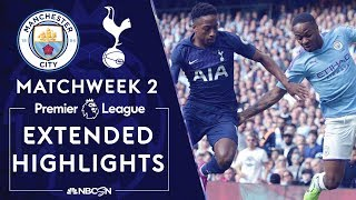 Manchester City v. Tottenham Hotspur | PREMIER LEAGUE HIGHLIGHTS | 8/17/19 | NBC Sports