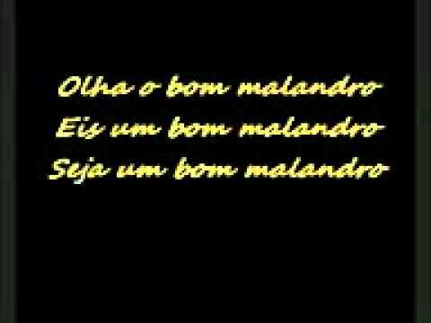 Baixar BOM MALANDRO  MUSICA E LETRA