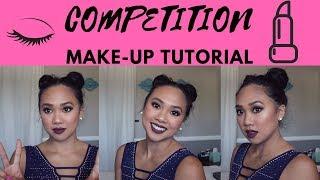 Gymnastics Competition Makeup Tutorial | Peng Peng Lee