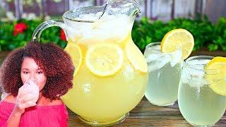 How To Make Homemade Lemonade Using Real Lemons - The Best Lemonade Recipe