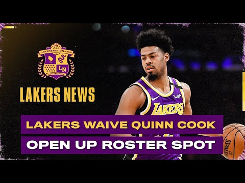 Lakers Waive Quinn Cook, Another Move Coming?