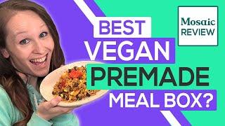 Mosaic Foods Review 2020: Best Healthy Vegan Frozen Meals? (Taste Test)