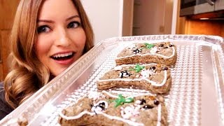 How to Make Gingerbread Cookies | iJustine Cooking