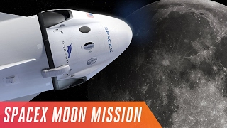 SpaceX promises a Moon vacation in 2018