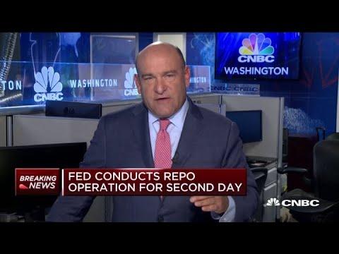 Fed accepts $75 billion of $80 billion in bids in repo operation