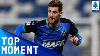 Giorgos Kyriakopoulos's fantastic free kick!   Sassuolo 2-0 Lazio   Top Moment   Serie A TIM