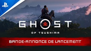 Ghost of tsushima :  bande-annonce VF