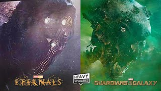 Marvel's The Eternals To Explain The Origins Of The Celestial Head Knowhere & Beginnings Of The MCU