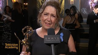 69th Emmys Thank You Cam: Ann Dowd From The Handmaid's Tale