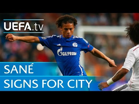 Leroy Sané goal v Real Madrid. Man City's new star in action