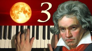 HOW TO PLAY - Beethoven - Moonlight Sonata - 3rd Movement (Piano Tutorial Lesson)