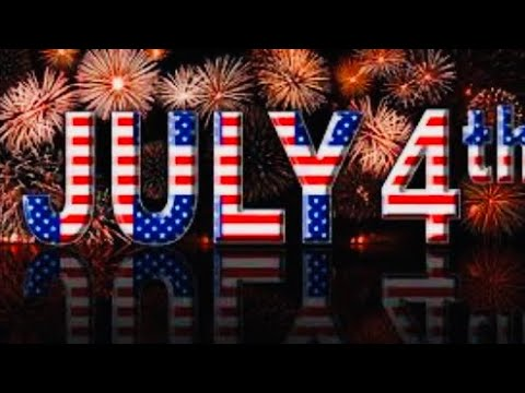 Fireworks Of 4th Of July 2020 / Happy 4th July / Happy Independence Day America