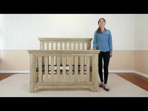 Serta's Langley 4 in 1 Crib Vignette