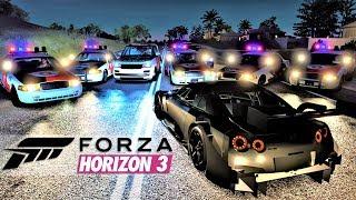 Passei na Blitz e Dei Fuga de Skyline GT-R na Polícia Militar - Forza Horizon 3