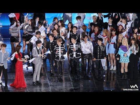 170603 EXO, NCT, 태민, TWICE, 세븐틴 엔딩 직캠 / Fancam by -wA-