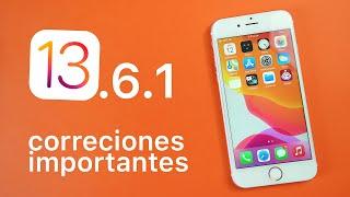 iOS 13.6.1 Novedades, deberías actualizar