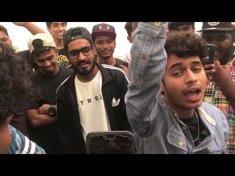 Ranveer Singh with Underground Rappers Mumbai cypher part 2