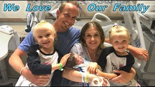 Meet Our New Baby Boy & Name Reveal! Hospital Day 2