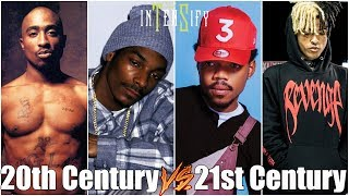 20th Century Rappers vs 21st Century Rappers