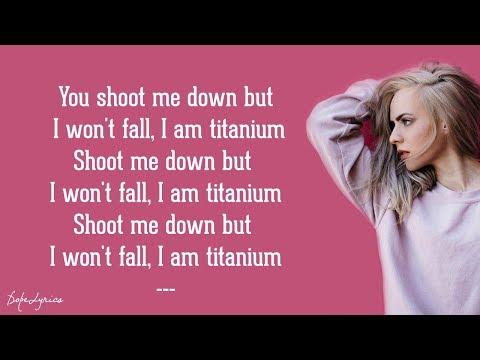 Madilyn Bailey - Titanium (Lyrics)