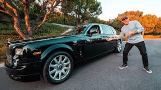 What Is It Like Living With The Longest Rolls Royce Phantom?!
