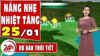 Dự báo thời tiết hôm nay mới nhất ngày 25 01 2021 Dự báo thời tiết 3 ngày tới. Miền Bắc có mưa phùn