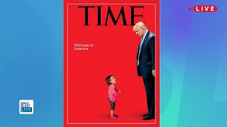 Trump on Time Magazine's Bold New Cover