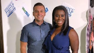 Scotty and Bret's Exclusive In Studio Interview with Uzo Aduba