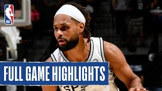 GRIZZLIES at SPURS | FULL GAME HIGHLIGHTS | October 18, 2019