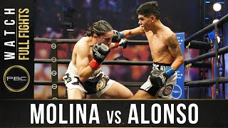 Molina vs Alonso FULL FIGHT: December 16, 2020 - PBC on FS1