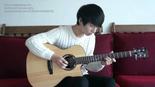 "Sungha Jung - Let It Go (OST ""Frozen"")"