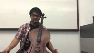 Comparison between a good and a bad cello