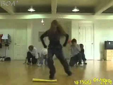 BoA Peace B practice with Black Beat