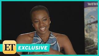 'Black Panther' Star Danai Gurira Loves the M'Baku Challenge (Exclusive)