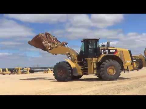2012 Cat 980K Wheel Loader, A02030