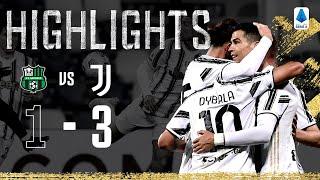 Sassuolo 1-3 Juventus | CR7 & Dybala reach 100 Goals Each! | Serie A Highlights