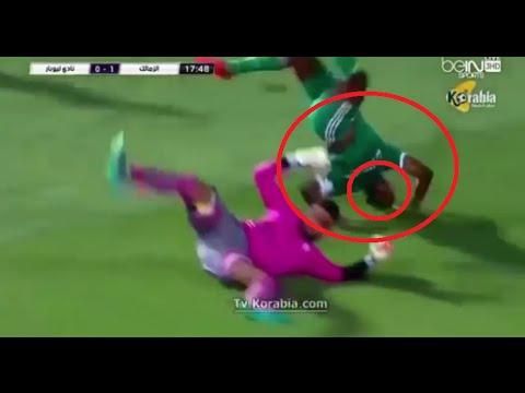 فيديو..لاعب يغادر الملعب