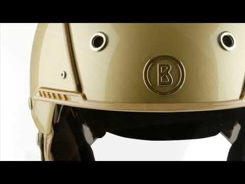 Bogner Ski Helmet Pure In Champagne