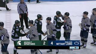 Top Plays: Michigan State at Penn State   Big Ten Hockey