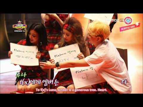 [HeartfxSubs] 130731 f(x) - Show Champion Interview (eng)