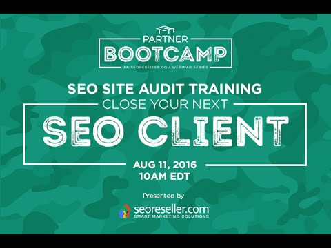 SEO Site Audit Training: Close Your Next SEO Client