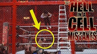 7 WWE Hell In A Cell 2018 Mistakes & Fails You Might Have Missed!