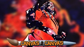 The Big Red Machine brings hellfire & brimstone to the canvas: WWE Canvas 2 Canvas