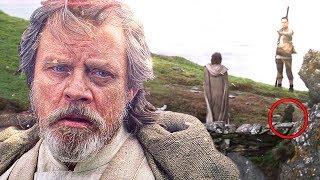 El Terrible Acto que Luke Iba a Cometer cuando Rey lo Interrumpió en Star Wars Los últimos Jedi